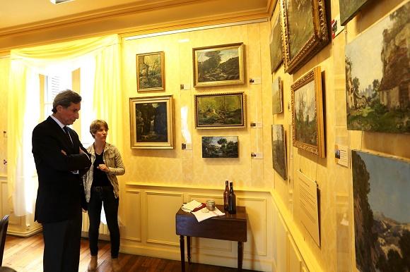 Patrick de Carolis à la maison-musée Lansyer à Loches © Touraine le département 37 - Benjamin Dubuis