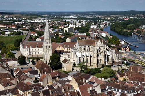 Abbaye Saint-Germain © Josette Laliaux Ville d'Auxerre