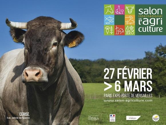 Affiche du Salon de l'Agriculture 2016