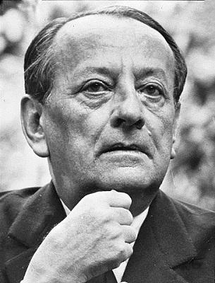 Portrait d'André Malraux © Dutch National Archives, The Hague - CC BY-SA 3.0