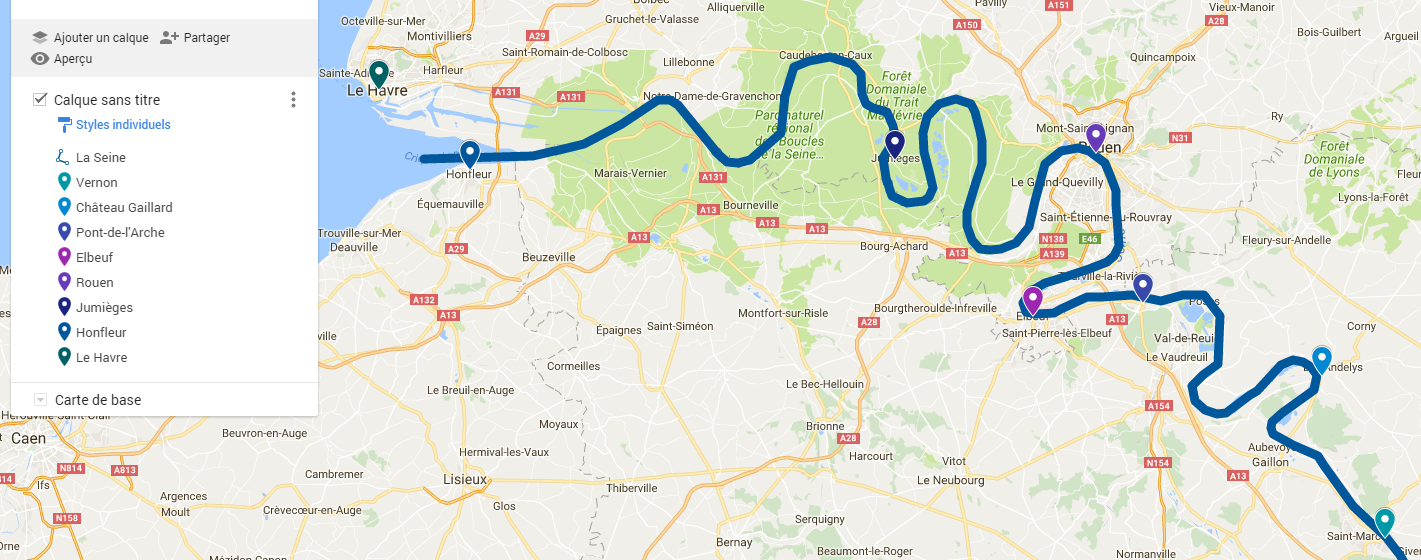 Au fil de la Seine : dernière partie   J'aime mon patrimoine