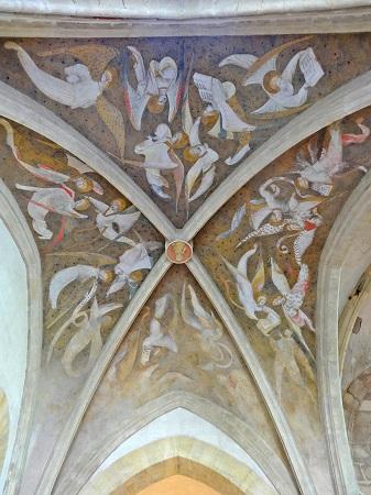 Plafond de la Vieille Chapelle de Souvigny © Paul Saccard / Musée du Pays de Souvigny