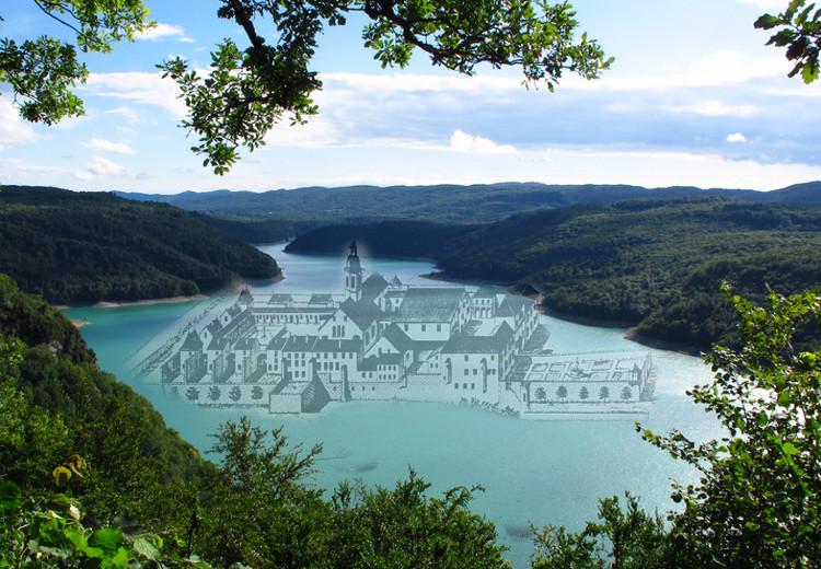 Video La Chartreuse Engloutie Du Lac De Vouglans J