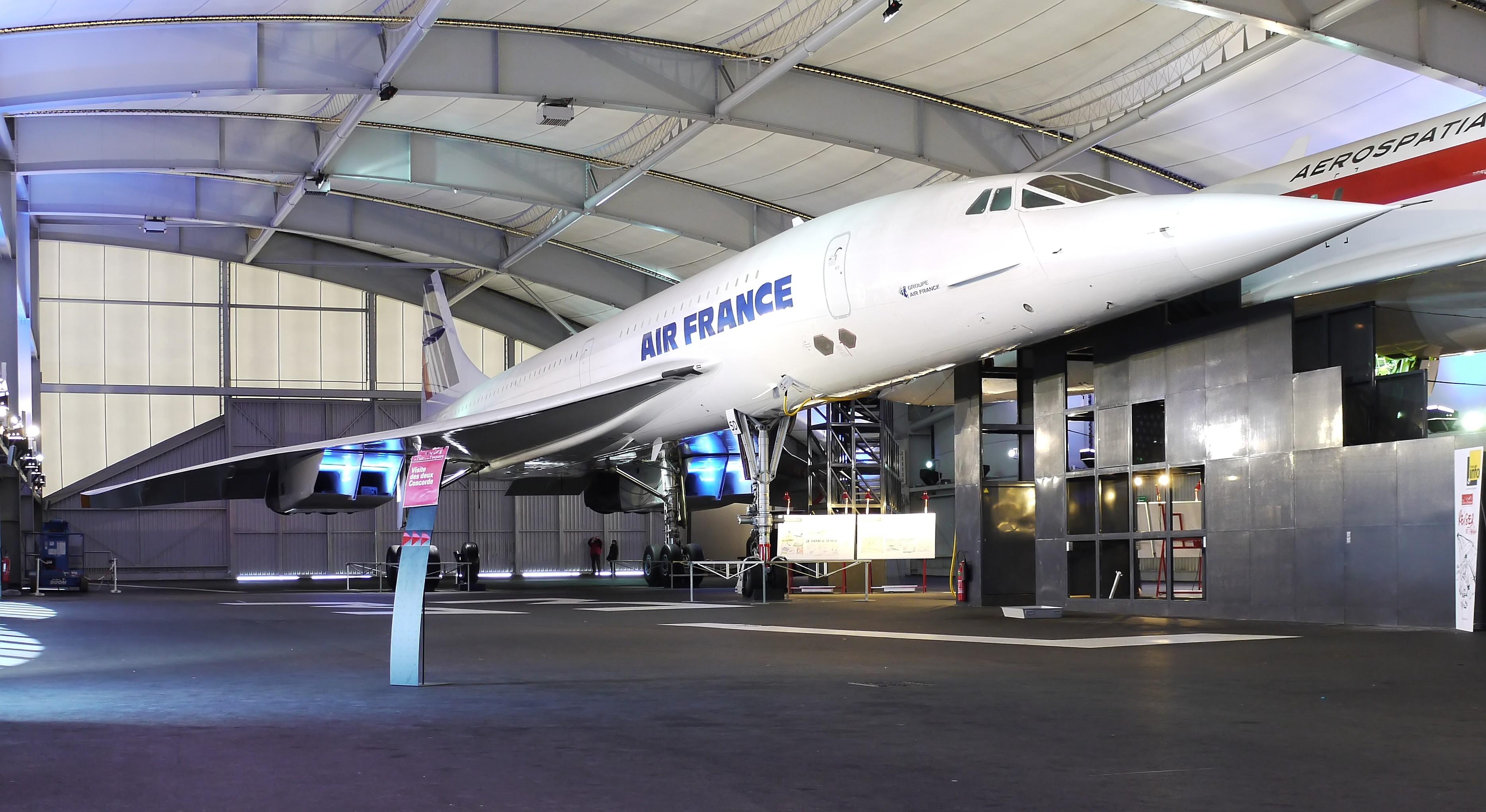 Halle des Supersonics © Musée de l'Air et de l'Espace  – Le Bourget / Xavier Derégel