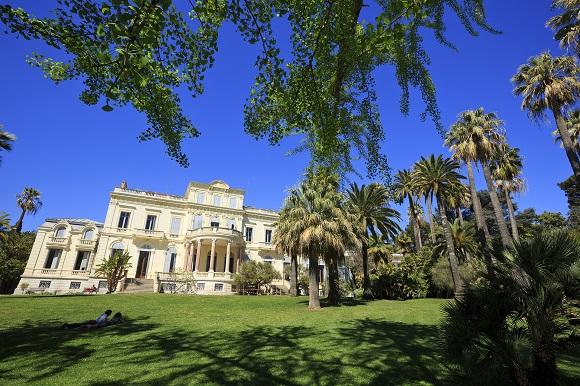Jardin de la villa rothschild cannes j 39 aime mon patrimoine for Jardin villa rothschild