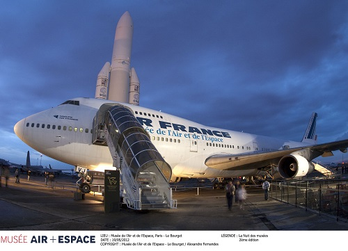 Boeing 747 au musée du Bourget © Musée de l'Air et de l'Espace  – Le Bourget / Alexandre Fernandes