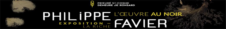 Prieuré St-Cosme - L'oeuvre au noir - mega banner