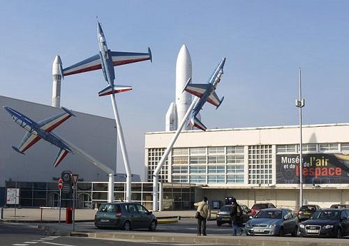 Entrée du musée de l'Air et de l'Espace © Pline - CC BY-SA 3.0