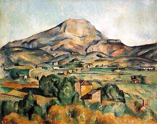 Paul Cézanne : la montagne Sainte-Victoire