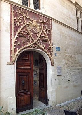 Porte du Palais du Roure