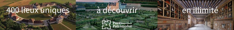 Pass Patrimoine pages
