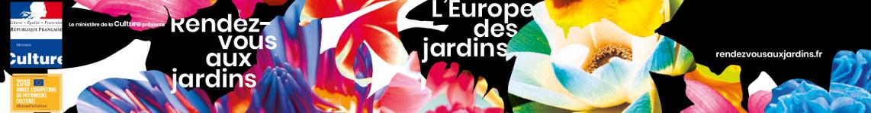 Rendez-vous aux jardins 2018 - mega banner