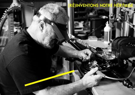 (Ré)inventons notre héritage. Atelier Georges Alloro (Maître d'art), Facteur d'instruments nouveaux © Sophie Brändström - Picturetank – INMA