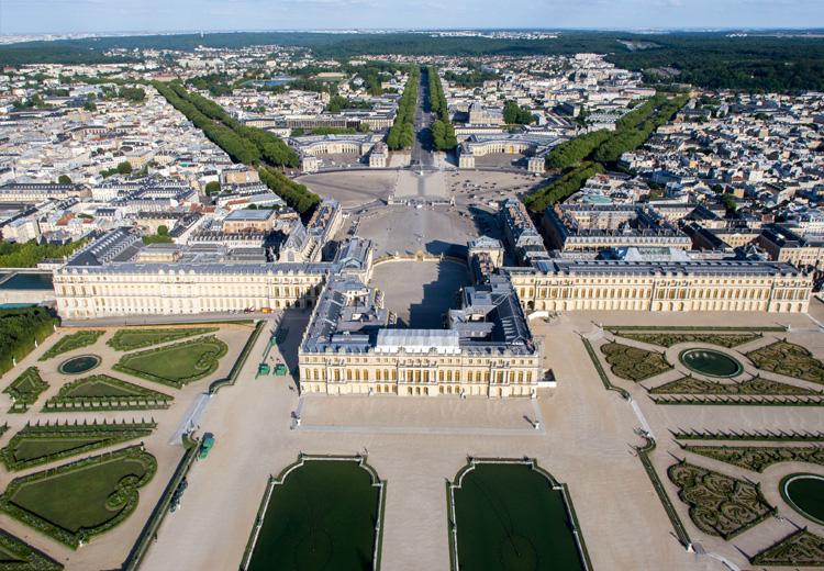 Versailles Vue Du Ciel J Aime Mon Patrimoine